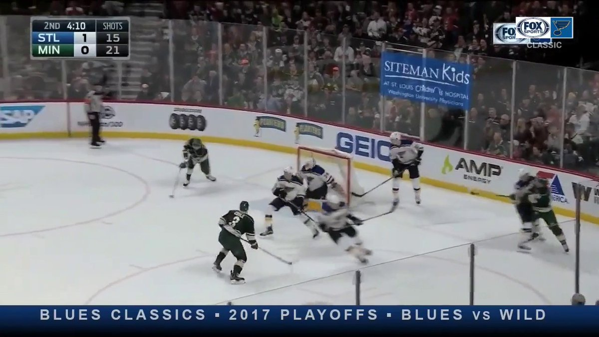 Back-to-back saves. The Snake is heating up. 🔥 This Blues Classic Replay is airing now on FOX Sports Midwest.
