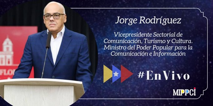 #Ahora 📸 Vicepresidente Sectorial de Comunicación @jorgerpsuv informa🇻🇪 ✅Se han realizado 832.526 pruebas diagnósticas de covid-19, equivalente a 27.751 por millón de habitantes ✅49.628 venezolanos han regresado al país ✅77% de los casos son importados #QuédateEnCasa
