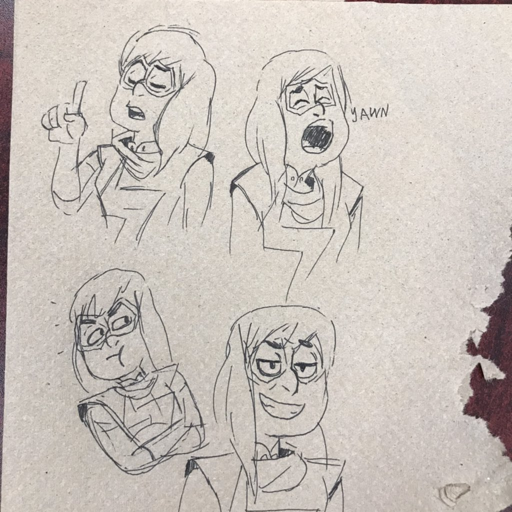 Sketches of my daughter  #msmarvel #kamalakhan<br>http://pic.twitter.com/PfmipfkppV