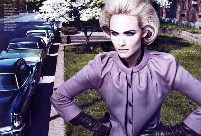 My Quarantine Day Expressed in Supermodels, 25 May 2020 (Amber Valletta)