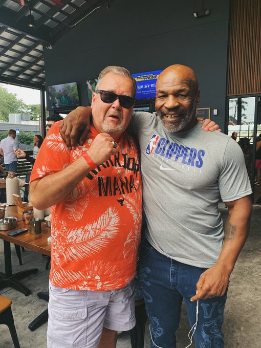Mike Tyson, AEW Wrestlers And Others Attend Tony Khan's Memorial Day Beach Party (Photos)
