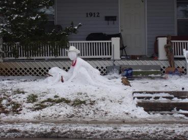 #snow art at the #collegepic.twitter.com/iASDxf7qFV