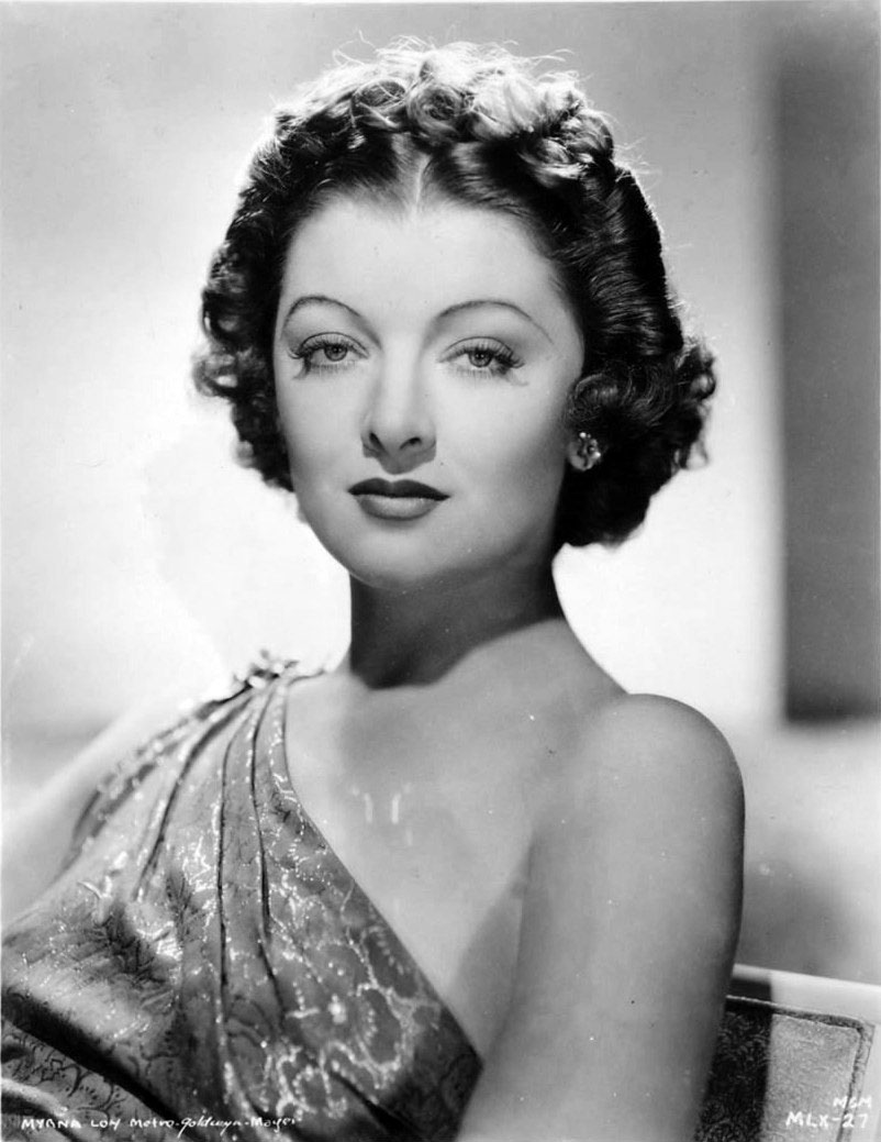 After Myrna Loy lost her father in the Spanish Flu pandemic of 1918, her mother moved the family from Montana to Los Angeles. #AFIMovieClub #TCMParty