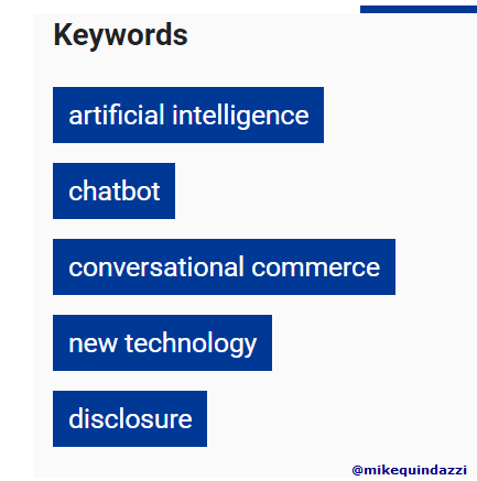Disclosing it's a #chatbot before the conversation? It reduces purchase rates by 80% >>> @INFORMS and @MikeQuindazzi >>> #AI #CX #BigData #DataScience #RPA #FutureofWork >>> https://t.co/F2mXOcvOkE https://t.co/In8hp96l1q