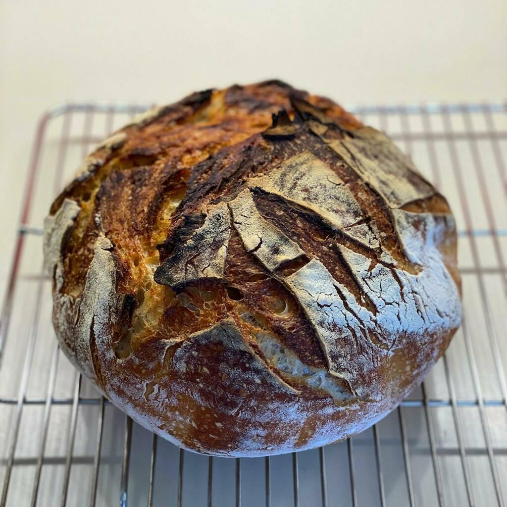 My First Sourdough #sanfrancisco #shelterinplace #baking #bread #foodporn https://instagr.am/p/CAn3PUgBnoS/pic.twitter.com/rcgwMsnLpk