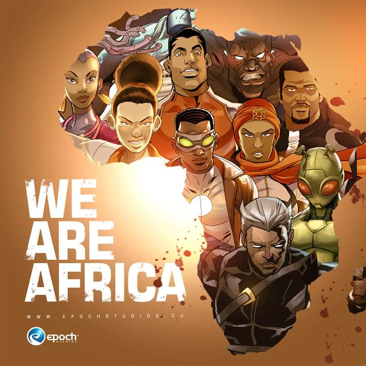 For the people For the culture For the beauty For the essence For the power For the love For unity For Africa Stars arise!  Happy Africa Day 2020!  #epochcomics #africaday #comics #africanheroes #africanunity #marvel #dc #graphicnovels #allstarspic.twitter.com/Pf8T7r7011