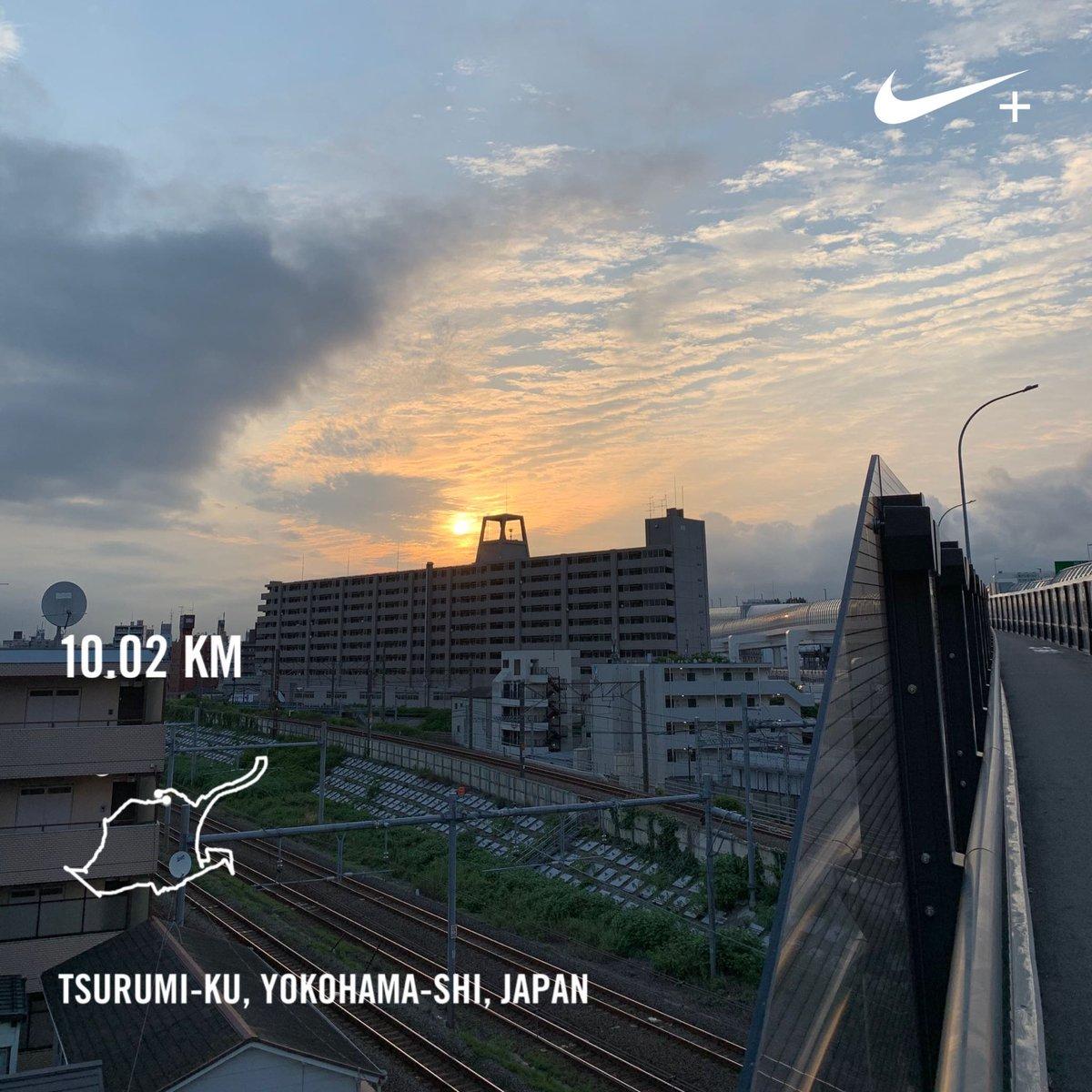 Tuesday morning run  #nikerunclub #run #running #nikeplus #tsurumi #yokohama #japan #morning #morningrun # #sunrisepic.twitter.com/JG5qG9GeO7