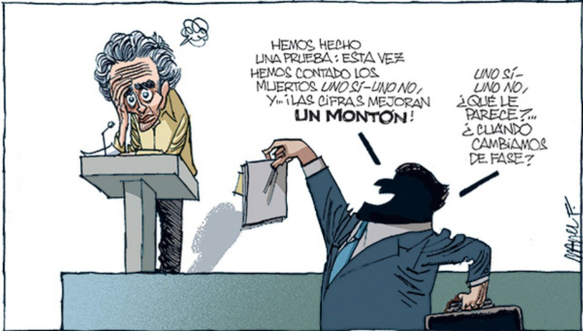 RT @gsemprunmdg: #recuentos    x     @ManelFontdevila   #viñeta #FelizMartes #Simón https://t.co/jC4uk5AvqC
