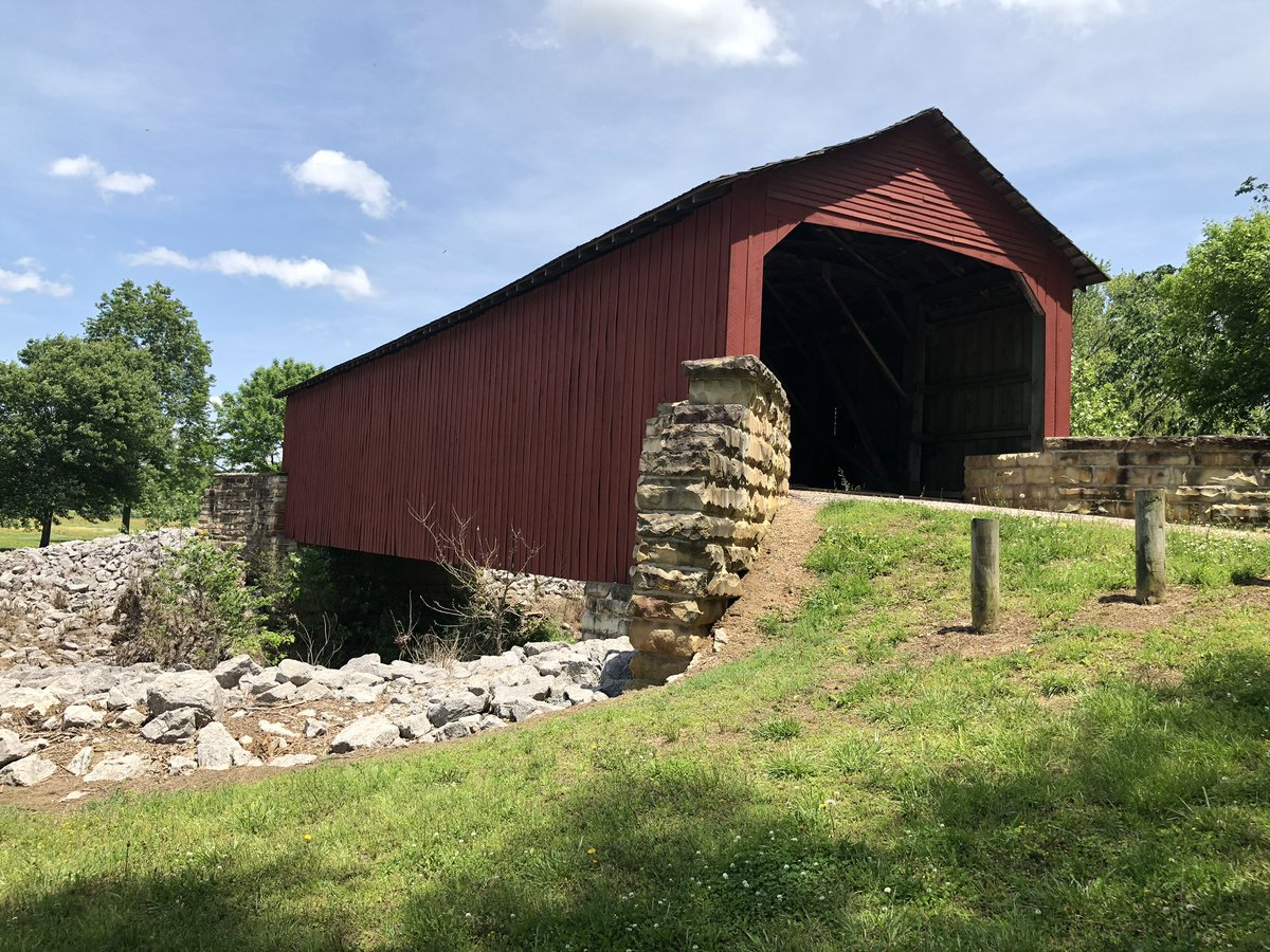 As a distraction to today's news, I took the wife on a statue hunt in the city of Chester, IL. Pics to follow in this thread. The statues are based off the comic strip & not the cartoon.Covered Bridge outside of town