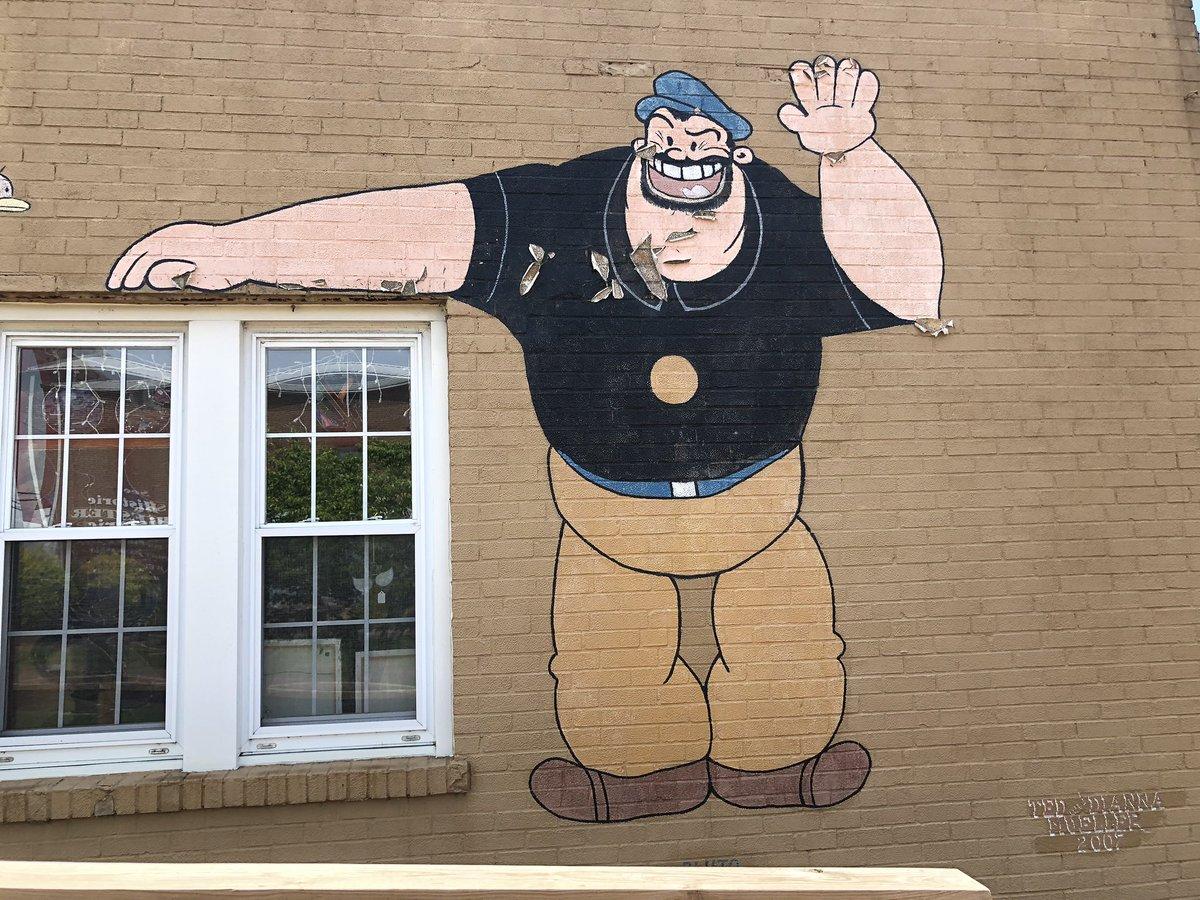 Murals downtown