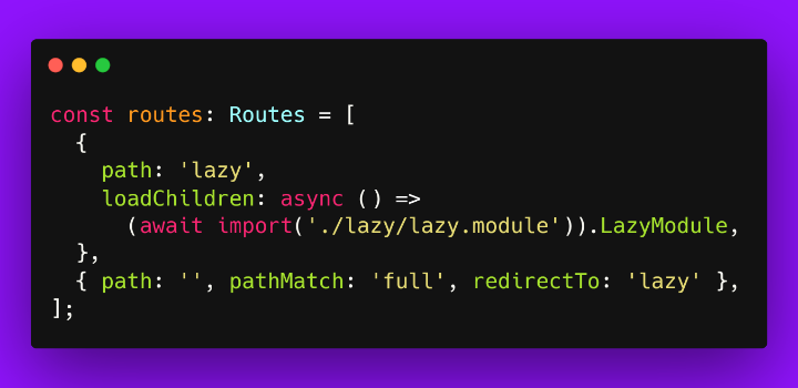 """""""Lazy-Loading Angular Modules (Ivy and Async Await)"""" by @toddmotto #Angular  https:// ultimatecourses.com/blog/lazy-load -angular-modules  … <br>http://pic.twitter.com/MTWGnotbGF"""
