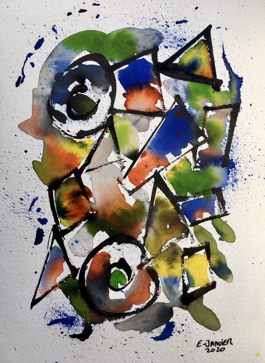 #art #painting #ink #geometricart pic.twitter.com/wgkibnqZQK