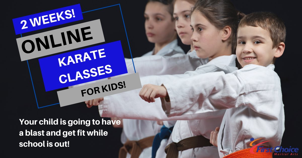 Get started today with a FREE intro class. Kids will have a blast while school is out! #hamilton #hamiltontario #ontario #ancaster #kidsactivities #kidsfitness #fitness #thingstodo #children #family https://www.firstchoicemartialarts.com/pages/2-free-week-trial …pic.twitter.com/STGpHa5e1e