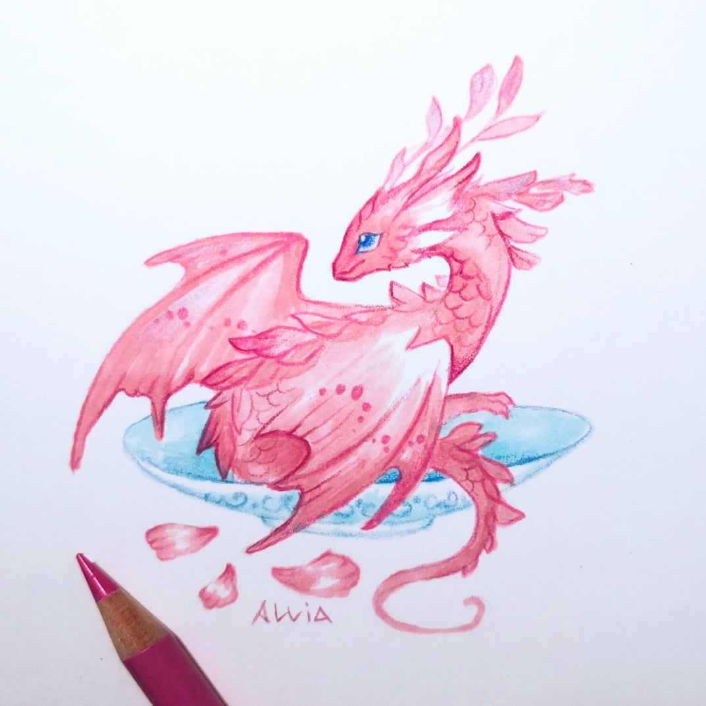 Flower petals  #dragon #sketchbook pic.twitter.com/nQU1Zms0Ly