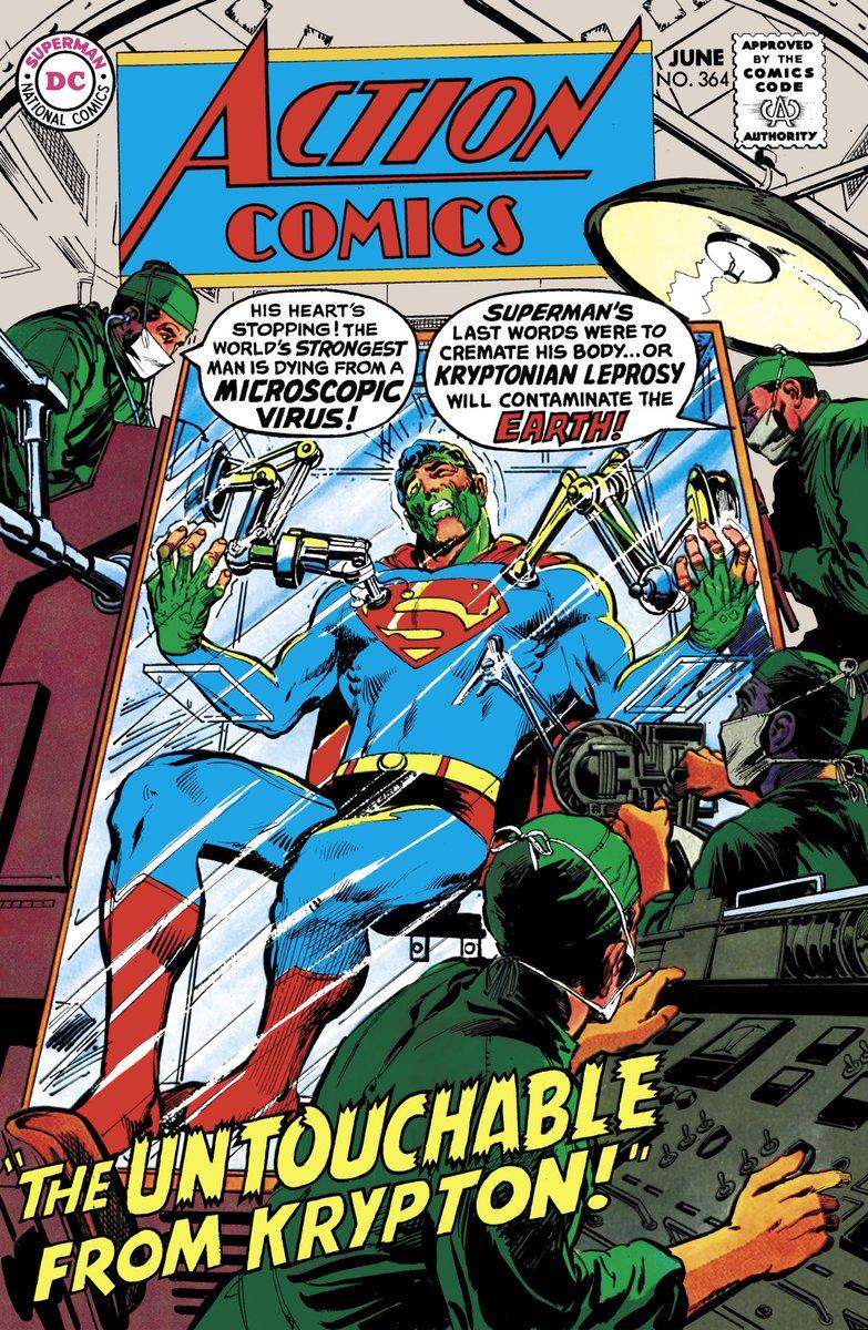 Even #Superman sometimes gets affected.  #StaySafe #StayHome #ShelterInPlace #DCComicspic.twitter.com/extFzdSkhC