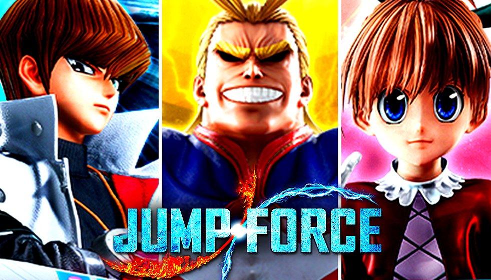 Les nouvelles miniatures des test #dlc de #JumpForce ! https://t.co/WNpuQ1a5ht