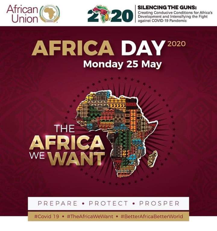 The celebration of Africa Month and #AfricaDay provides an opportunity to promote African unity, deeper regional integration and recommit Africa to a common destiny. Wishing us all a Happy Africa Day.  #AfricanUnity #TheAfricaWeWant #SilencingTheGuns #BetterAfricaBetterWorldpic.twitter.com/gVtQH3wXfi