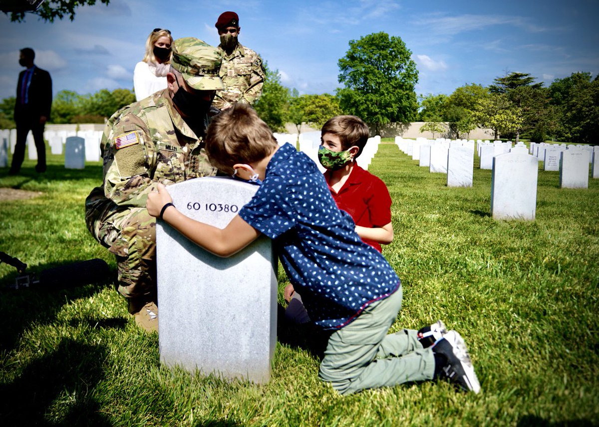 I was incredibly moved by this family's story - will share with you tonight on the @CBSEveningNews #MemorialDay