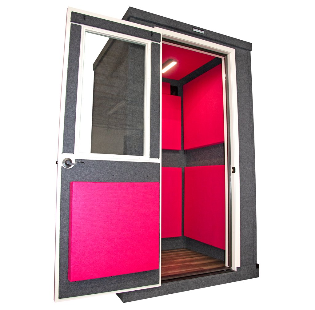 4'x4' 𝑆𝑖𝑛𝑔𝑙𝑒 𝑊𝑎𝑙𝑙 𝐓𝐢𝐞𝐫 𝐎𝐧𝐞 LA Vocal Booth ⁣  #vocalbooth #recordingbooth #homestudio #homerecordingstudio #musicstudio #musicproduction #homerecording #studioflow #recordingstudio #studiosetup #soundisolationpic.twitter.com/N84HFNkiFn