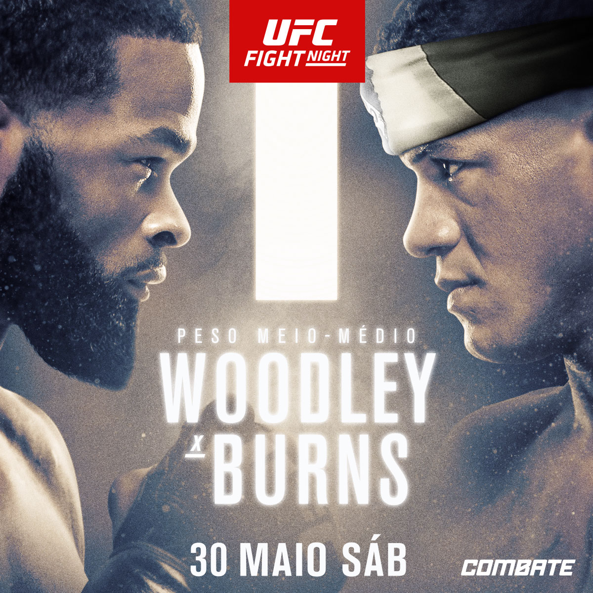 FIGHT WEEK!   O brasileiro @GilbertDurinho 🇧🇷 enfrenta o ex-campeão @TWooodley neste sábado (30) https://t.co/0Hienh8URK