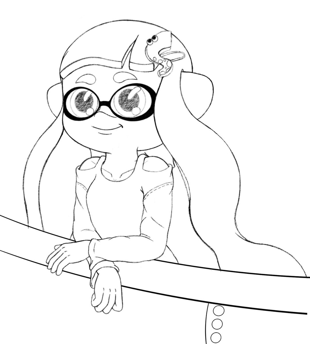 Haven't had the chance to make any birthday related drawings for myself, so instead have a sneak peak at what I'm working on next!