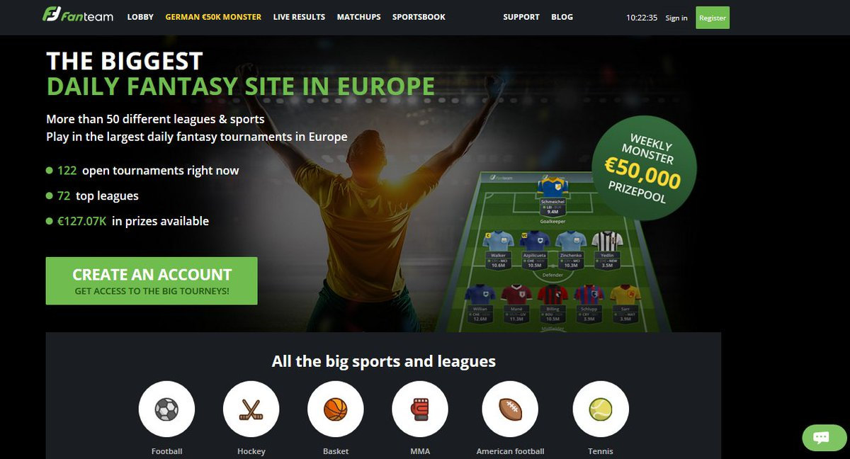 top sports fantasy betting sites
