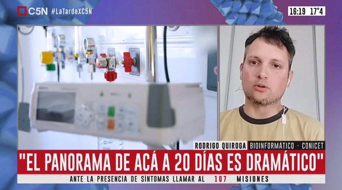 "Rodrigo Quiroga on Twitter: ""Acá la nota que me hicieron hoy ..."