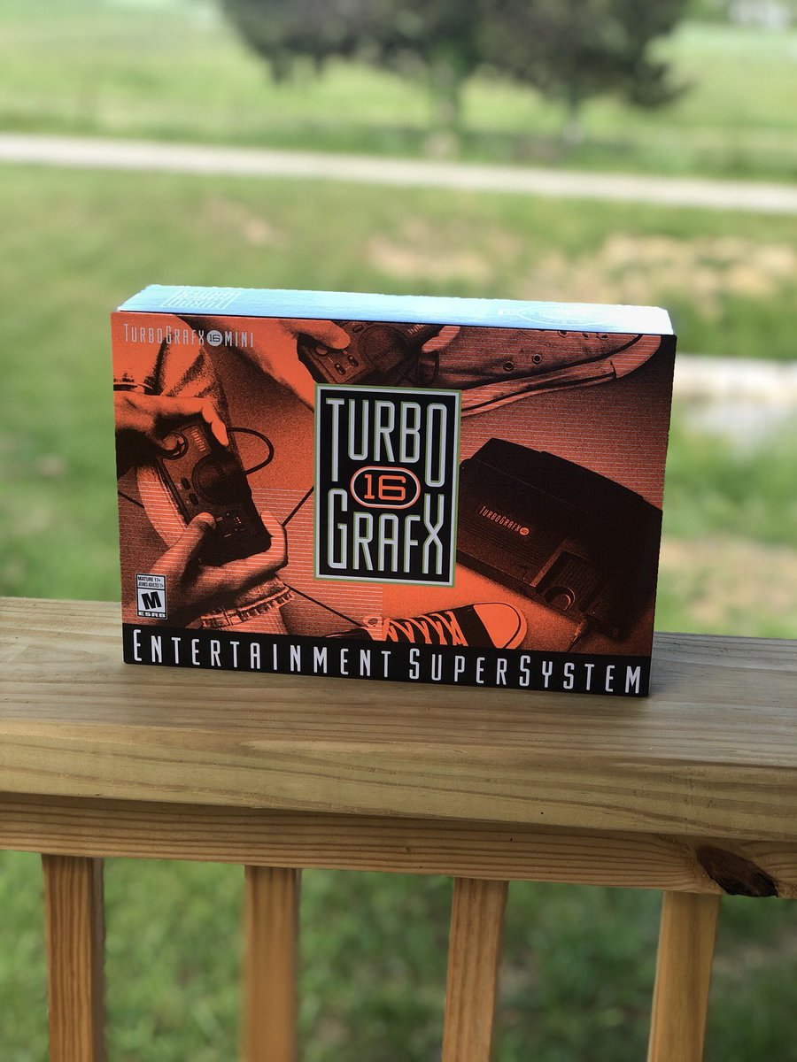 ****GIVEAWAY**** I am giving away a Brand new Turbo Grafx mini! All you have to do is follow me and tag a friend in the comments on this post. I will choose one lucky winner next Monday June 1. #giveaway #retrogaming #Retrogamer #gamerguy #gamergirl #videogames pic.twitter.com/jybhUoGk2N