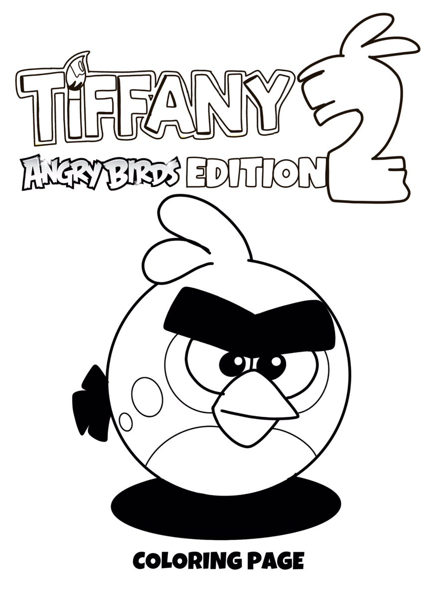 Help yourself to these awesome #TiffanyAngryBirdsEdition coloring pages during your quarantine!   #TiffanyAngryBirds2Edition premiering July 31 on #TiffanyFisherArtist YouTube!   More coloring pages in the thread below:  #angrybirds #angrybirds2 #coloringpages #fanmade #animationpic.twitter.com/BJpaMOx5dh