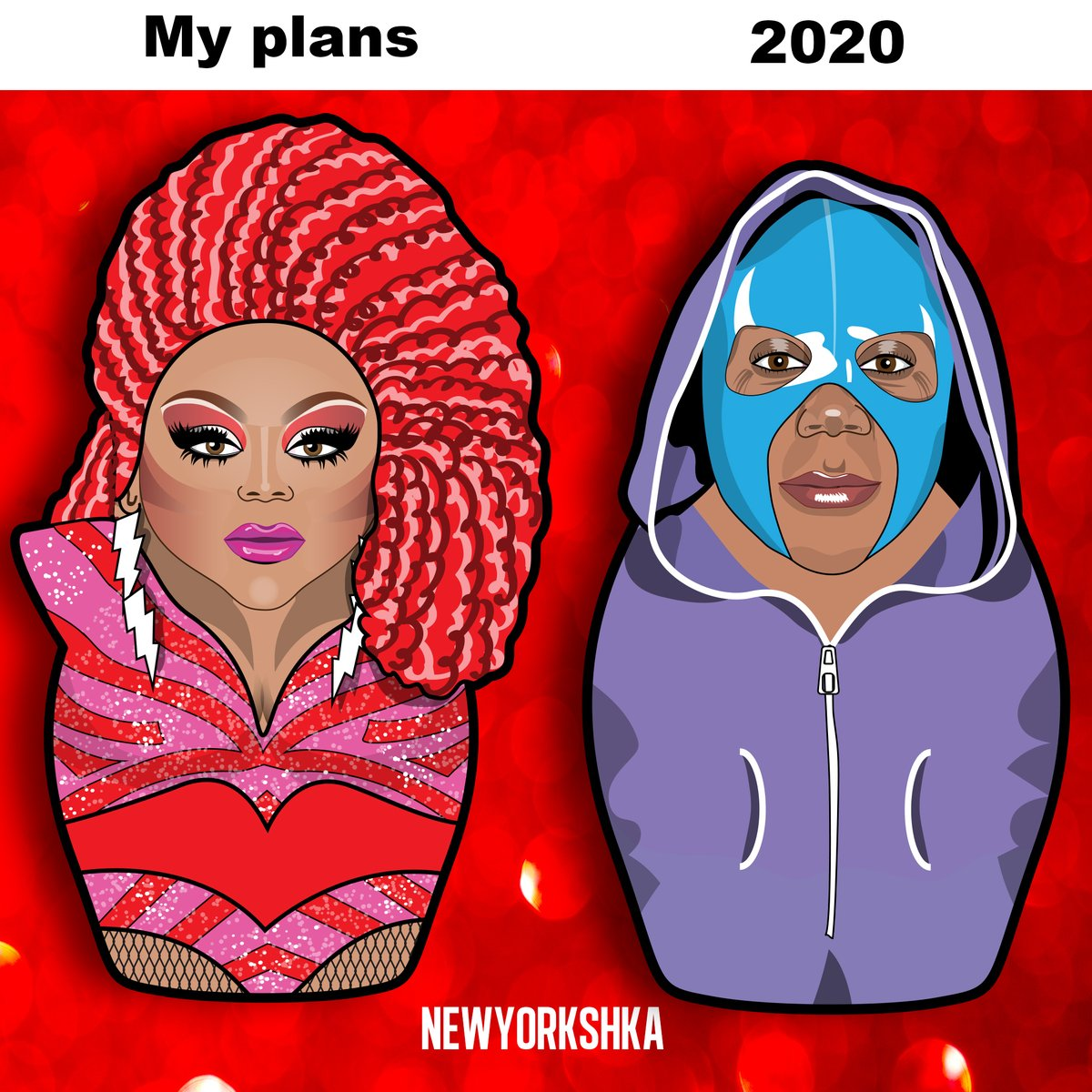 When did this turn into a fight for our lives? Jeez Come on people, you can do this.   Fantasy pins handmade http://newyorkshka.etsy.com   #newyorkshka #pins #rupaul #gay #Dragrace  #illustration #memorialday #TeamCrystal #teamgigi #dragqueen #Ruchador #newyorkrealness #nyshka pic.twitter.com/UTS5ZUi7EL