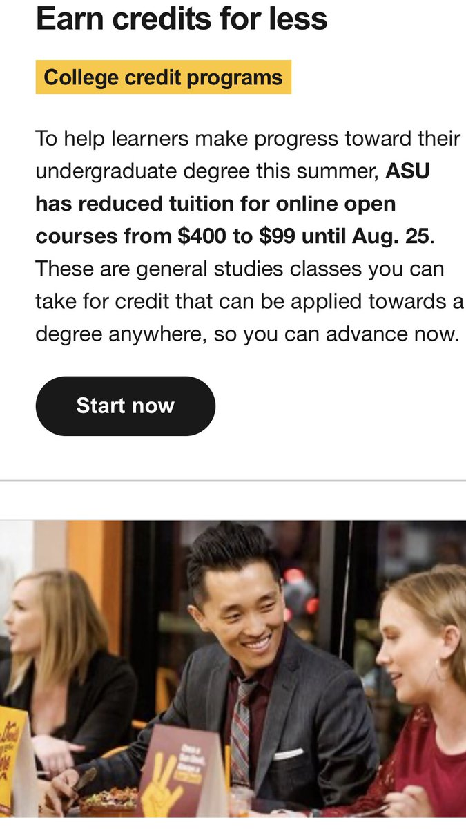Looking for something to do this summer? How does College Pre calculus for $99 dollars sound? You may cringe, but thousands are jumping to take advantage of ASU's online summer tuition cuts! More at 5 & 6 #fox10phoenix #asu https://t.co/qrsraeTlko