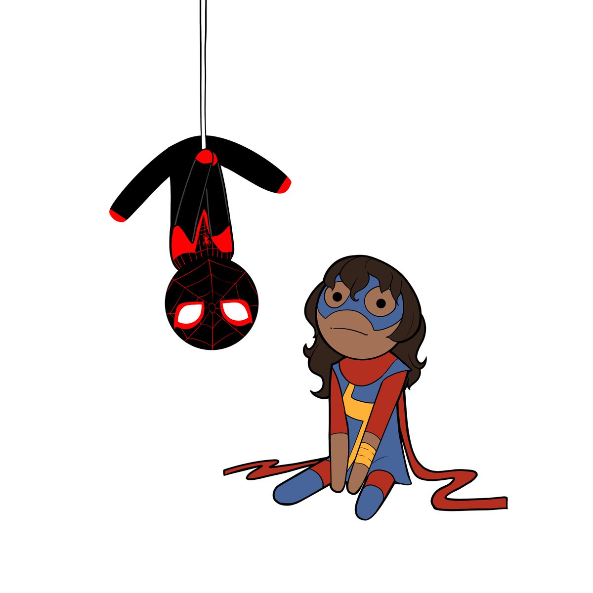Preview! #MsMarvel #KamalaKhan #SpiderMan #MilesMorales #Champions<br>http://pic.twitter.com/BY3KlL0RnK
