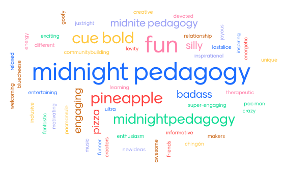 Tonights #midnightpedagogy will be on Google meet (Monday Meet) Same time (10:00pm), same last slice of PD, But new location.... See the comments for the link!