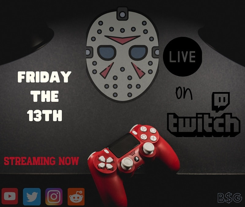 Alright Everybody we are live right now!! Hit the link in my bio to watch my F13 stream and hang out!    Be Sure to follow me on Twitch to get notifications when I go live!!! @SmallStreamersR #twitch #twitchstreamers #f4follow #f13game #campblood  #deebotwitchpic.twitter.com/mEEW7uWu8d