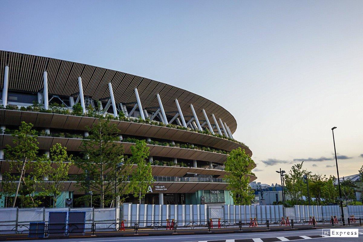 New National Stadium Japan #tokyoburari #newnationalstadium  #sendagaya #tokyo2020 #tokyo2020 #tokyosightseeing #東京 #新国立競技場 #千駄ヶ谷 #東京2020 #tokyo2020olympics #東京2020オリンピック #東京ぶらりpic.twitter.com/Vn9Rx1cvw1