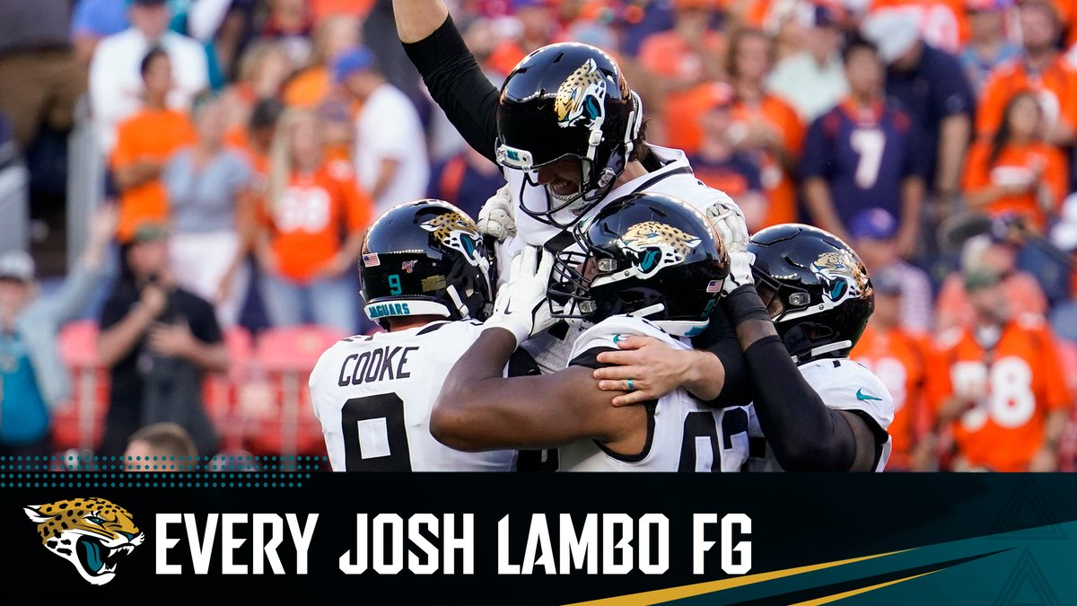 Our Lambo is automatic. Watch every @JoshLambo field goal in 2019.
