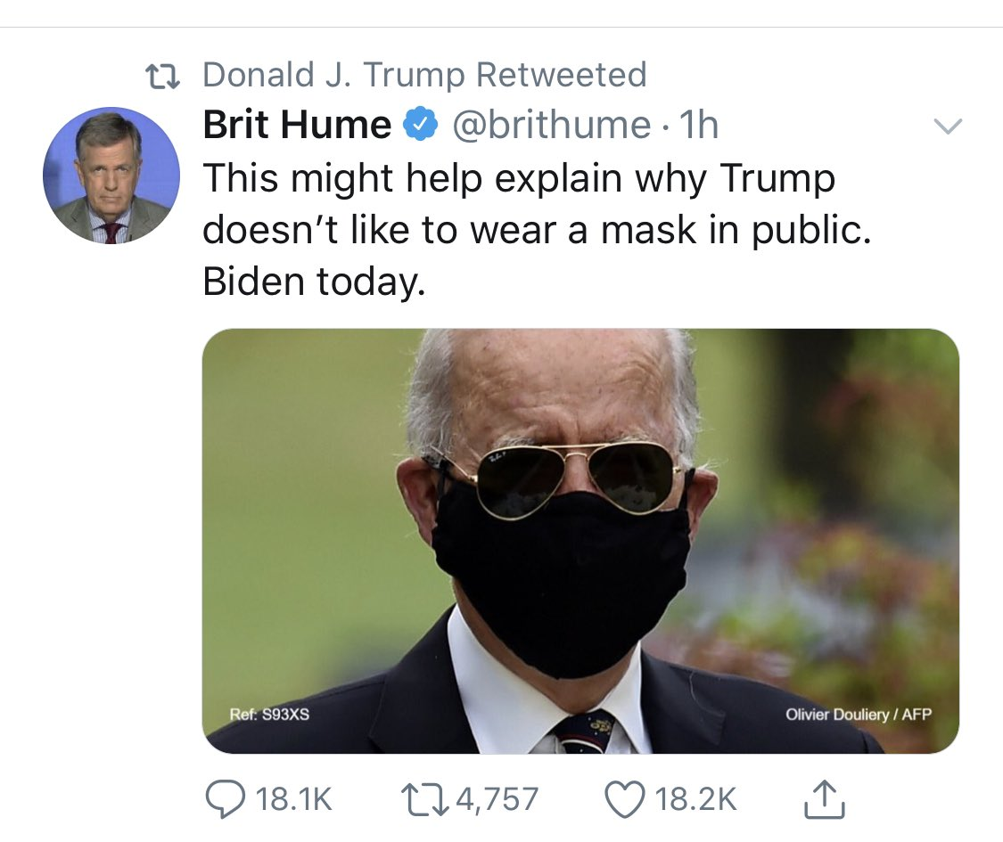 It takes some chuzpah to totally mismanage a pandemic outbreak that causes people to wear masks and then mock people for wearing masks