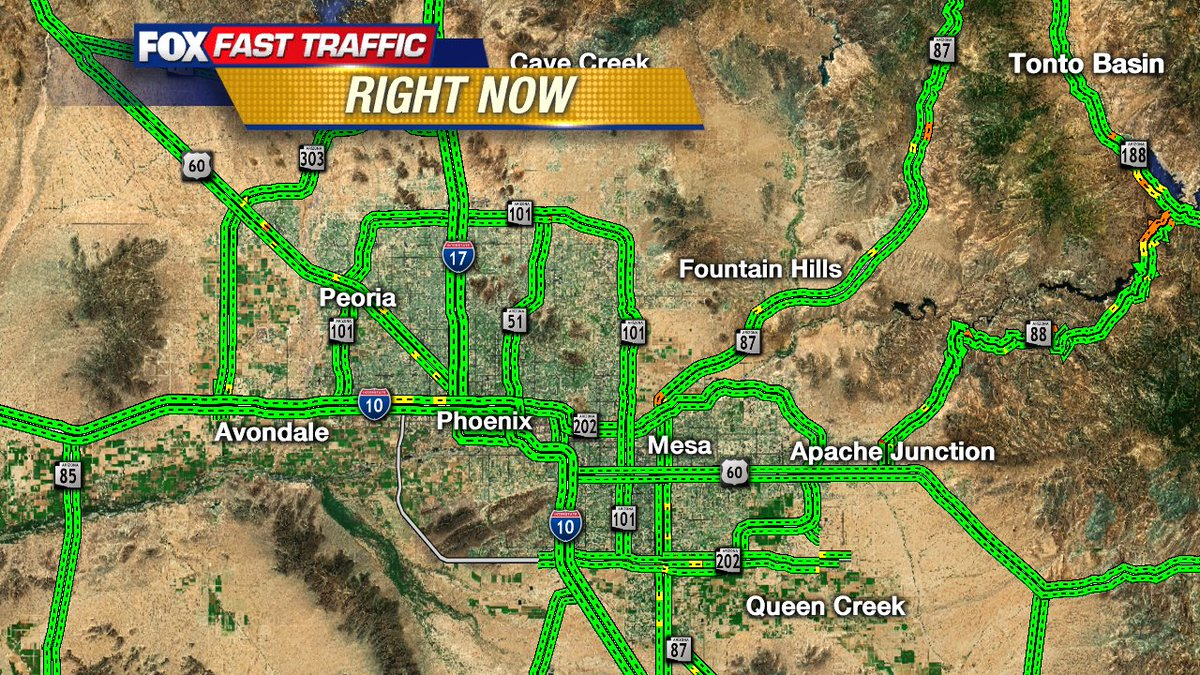 Here's your Traffic Right Now from #fox10phoenix https://t.co/bCzw23Ytz5