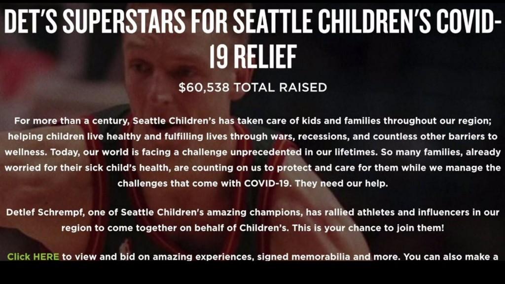 Det's SuperStars lead charge for Seattle Children's Covid relief q13fox.com/2020/05/25/det…