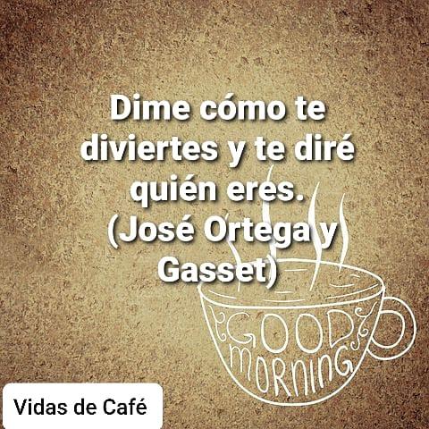 En nuestra diversión se escriben historias con sabor a café. ☕📚🌎  @vidasdecafe #libros #leer #escritores #vida #cafe #vida #cultura #amor#art #felizdia #felizmartes #joseortegaygasset #yomequedoencasa #frases #yomequedoencasaleyendo #letrasenespañol #letras https://t.co/IILVHhKJ1l