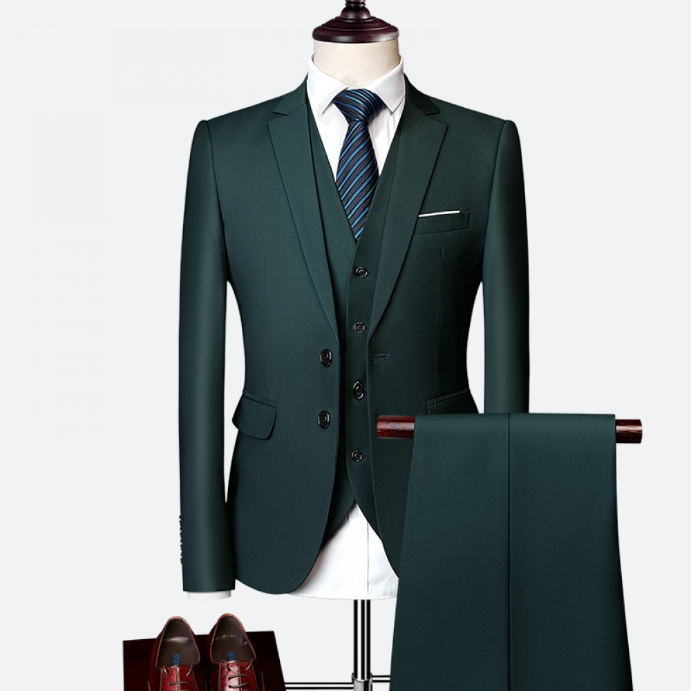 #mensworld Suit suit male 2019 spring and autumn high-end custom business blazers three-piece / Slim large size multi-color boutique suit pic.twitter.com/7q7hstMG9Y