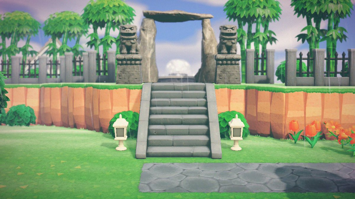 Nothing better than a grand entrance #AnimalCrossingDesigns #AnimalCrossingHome<br>http://pic.twitter.com/faBrpwoXGP