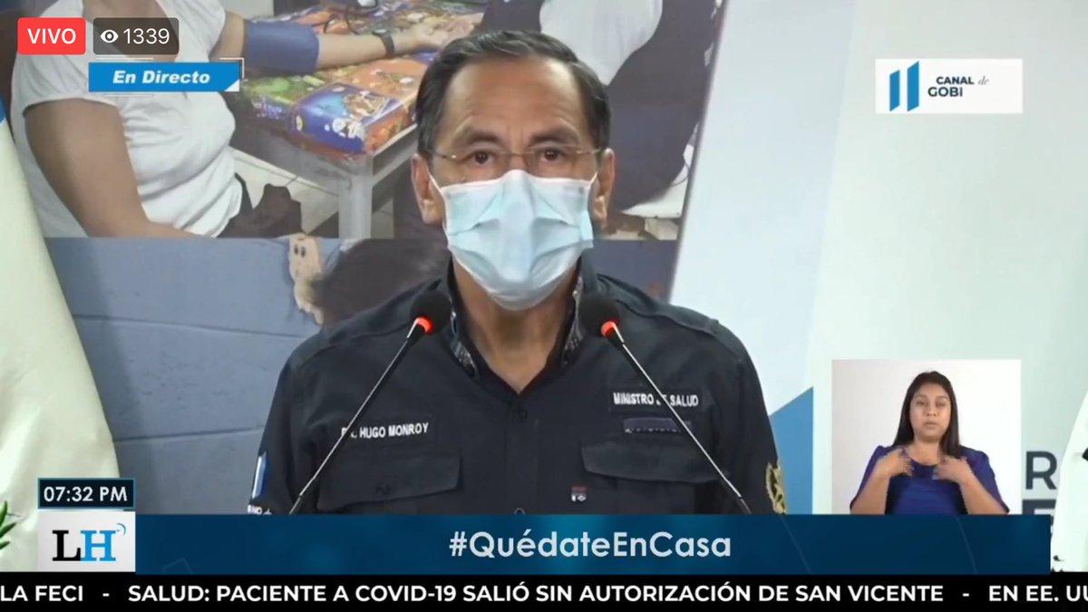 test Twitter Media - El ministro de Salud informa que hay 16 pacientes recuperados y una persona fallecida de 65 años. https://t.co/dlfrGkPVCn