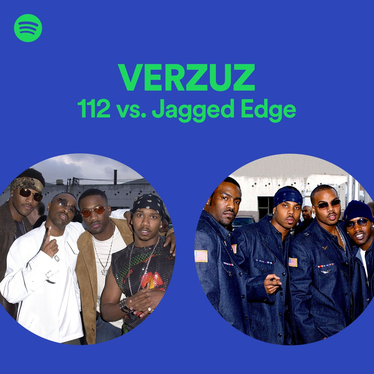 Something for the lovers 💚 112 vs. Jagged Edge. The #Verzuz playlist. spoti.fi/112vsJagged