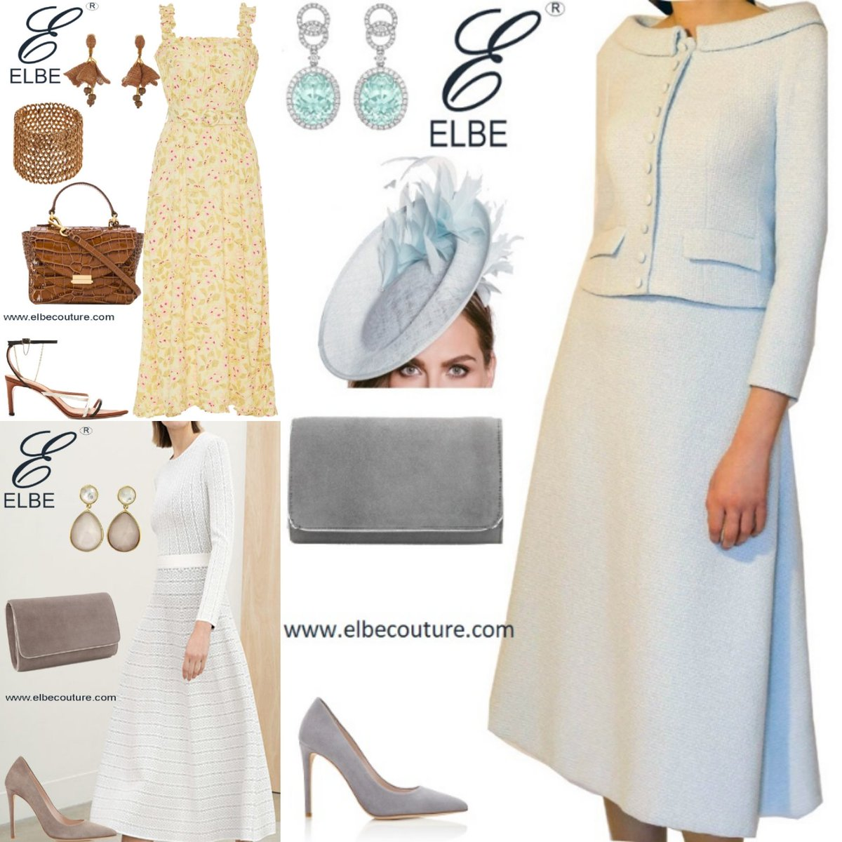#springsummer2020 collection of #elbecouture has #pastel shades, #elegantstyle #dreamyaesthetic  #timelessbeauty and #feminineenergy . A #lookbook catering all the #women  https://www.elbecouture.com pic.twitter.com/WYKMSHnuiy