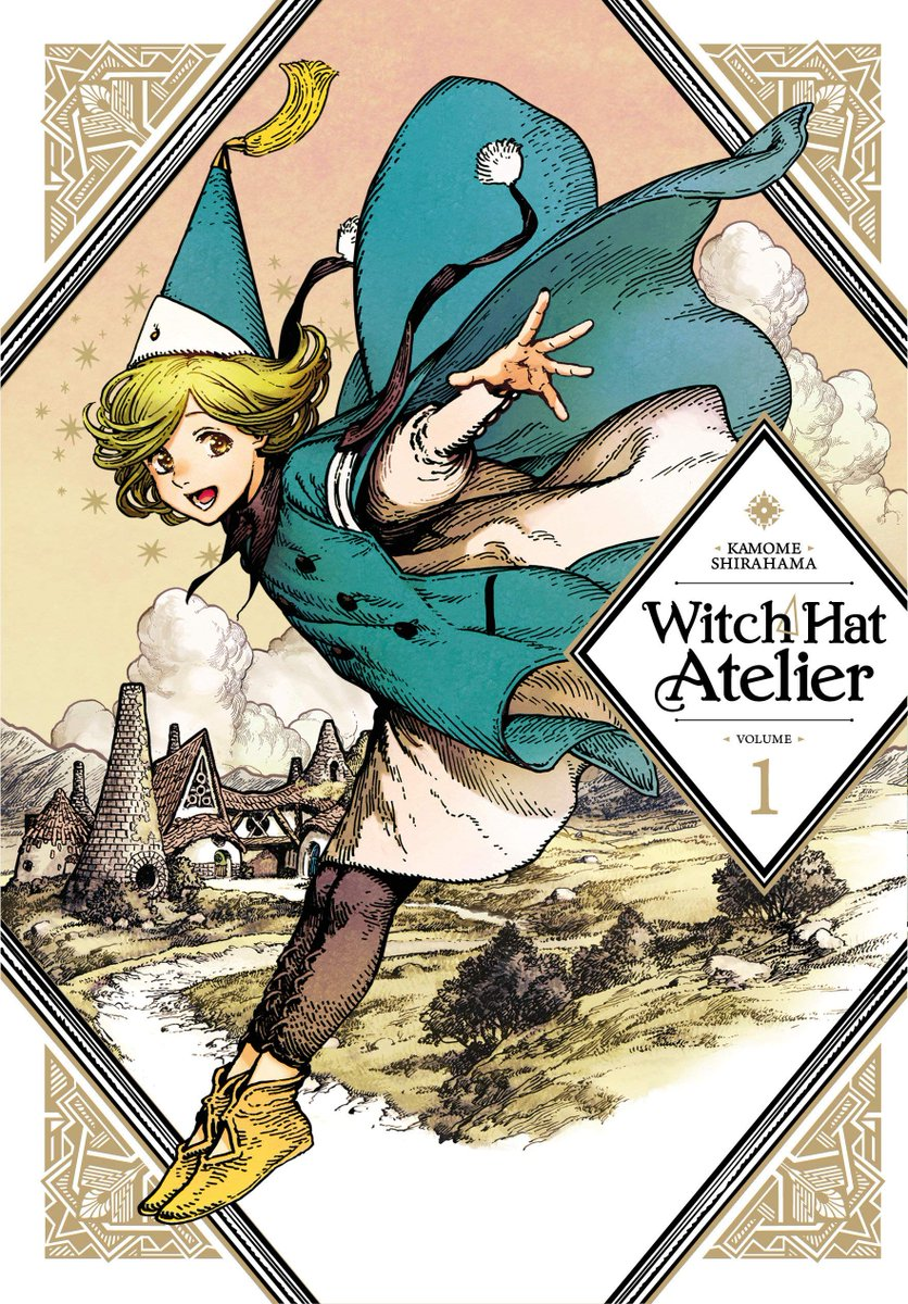 read the first volume of Witch Hat Atelier, it's a charming manga about witches with gorgeous art and cute characters, it also features an actually pretty interesting magic system and world history, there was clearly a lot of thought put into it, go ch-ch-check it out