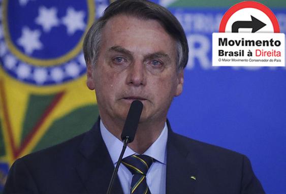 Queremos um presidente humano que luta pelos brasileiros com toda força de seu coração contra os corruptos do Congresso e do STF, nada de corruptos ou ex-presidiários! Isso é ser de direita! #ForçaPresidente você não está sozinho! @Siga Nossa página!pic.twitter.com/u6Feso5aAI