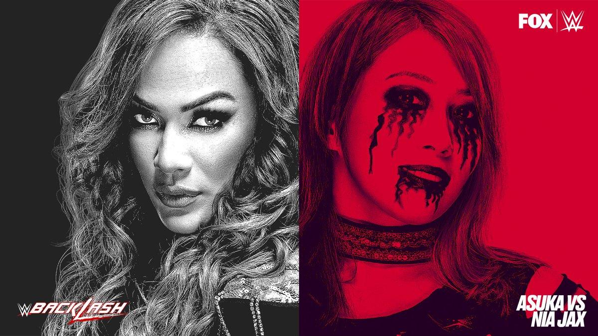 It's official!  @NiaJaxWWE will challenge @WWEAsuka for the RAW Women's Championship at #WWEBacklash! https://t.co/djF4p9i0nH