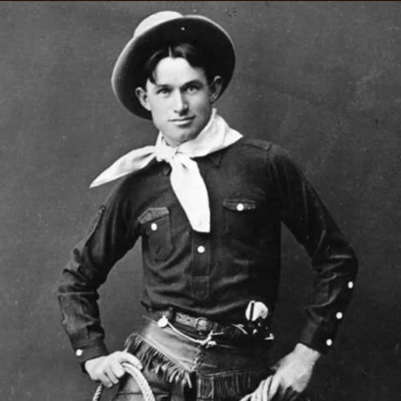 "Ready for some classic Americana? Join us @ 7:30PM **tonight** for our live screening of two Thomas Edison milestone short films + American icon Will Rogers in ""The Ropin' Fool""! (We hope this *very* young Will Rogers, circa 1900, catches your…eye. 😉 ) youtube.com/retroformatsil…"