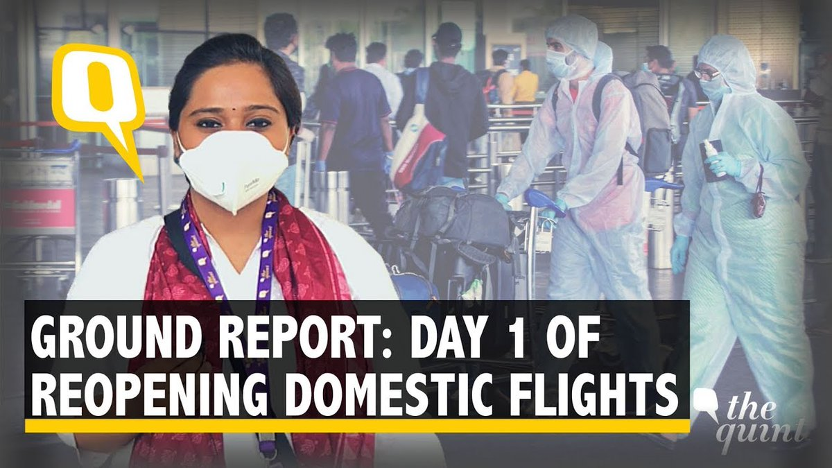 What does taking a flight in times of COVID-19 look like? What protocols are cab aggregators, food shops at airports following? @NandyAsmita reports from Delhis IGI aiport. Read more here: bit.ly/3ekyzvu